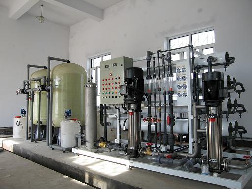 长水20吨双级纯水设备